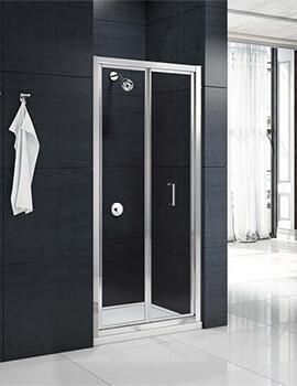 Merlyn Mbox Bifold Shower Door - Width 700 x Height 1900mm