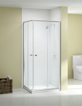 Merlyn Ionic Source Corner Entry Shower Enclosure 760/800 x 760/800mm