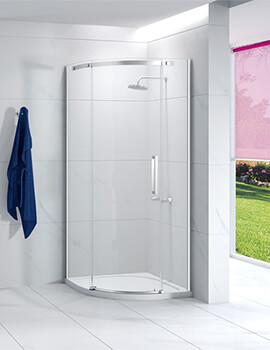 Merlyn Ionic Essence 900 X 900mm Single Door Quadrant Enclosure Left Handed