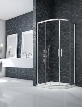 Merlyn Ionic Essence 800mm Framed Double-Door Quadrant Enclosure