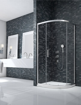 Merlyn Ionic Essence Single-Door 900 x 900mm Quadrant Enclosure
