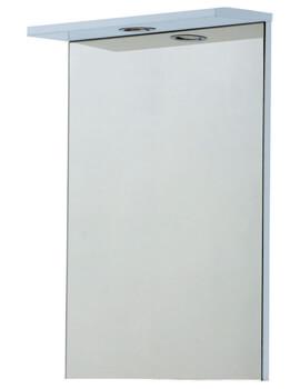 Frontline Aquapure White 450mm Mirror With Light
