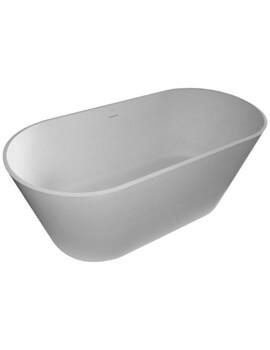 Saneux Zaha 1700 x 800mm Freestanding Tub With Waste