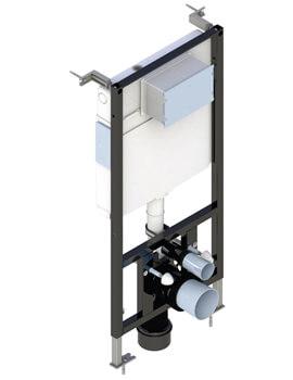 Saneux Flushe 2.0 1140mm Framed Cistern - Front Flush