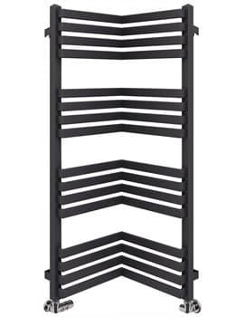 Frontline Incorner 350mm Width Designer Towel Rail
