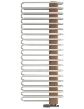 Frontline Michelle 500 x 1200mm Nickle And Copper Designer Towel Rail