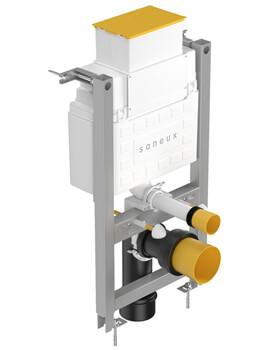 Saneux Flushe 2.0 Universal Framed Cistern With Mechanical Flush