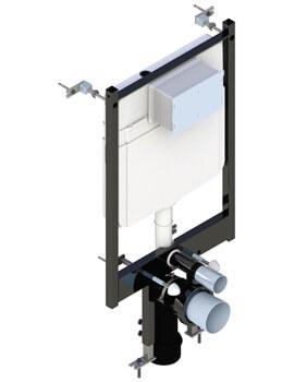 Saneux Flushe 2.0 1140mm Framed Cistern Front Flush Ultra Slim