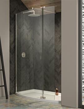 Kudos Ultimate 8mm Curved Panel Shower Enclosure Pack