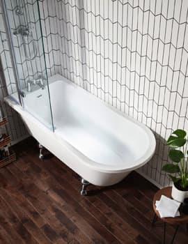 Frontline Islington Traditional Freestanding Bath with Ball Feet