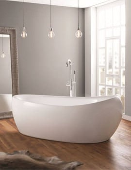 April Horbury 1750 x 830mm Contemporary Freestanding Bath