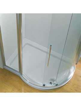 Kudos Concept Curved Offset Quadrant Shower Tray 1270 x 910mm