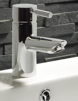 Tavistock Kinetic Single Handle Mono Basin Mixer Tap Without Waste