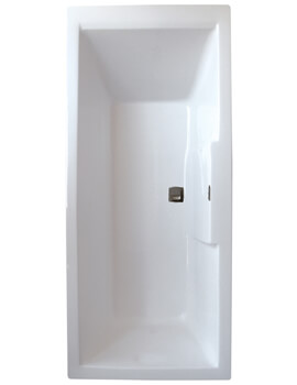 Frontline Legend 1500 x 700mm Square Single Ended Straight Bath