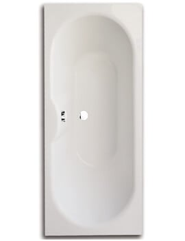 Frontline Luna 1700 x 750mm Round Double Ended Straight Bath
