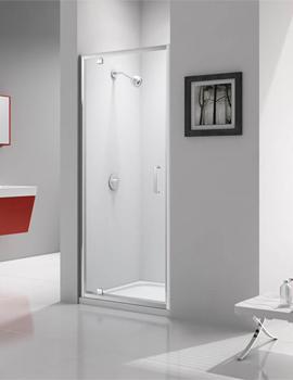 Merlyn Ionic Express 1900mm Height 6mm Glass Pivot Shower Door