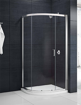 Merlyn Mbox Single Door 800 x 800mm Quadrant Shower Enclosure