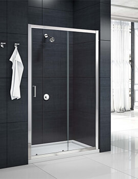 Merlyn Mbox Sliding Shower Door - Width 1000 x Height 1900mm