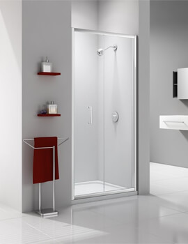 Merlyn Ionic Express 6mm Glass Bi-Fold Shower Door 760mm Wide