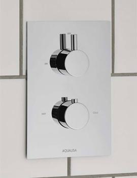 Aqualisa Rise DCV Mixer Shower Valve - HP Or Combi