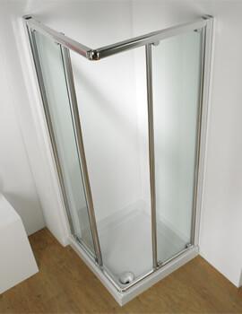 Kudos Original Corner Access Straight Sliding Door With Tray