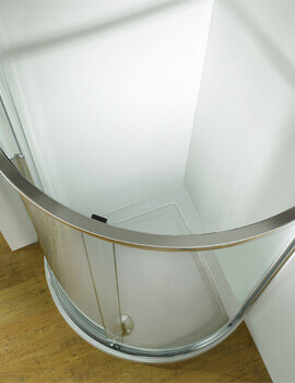 Kudos Original Curved Corner Sliding Door