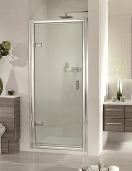 Aqata Exclusive ES200 Hinged Shower Door For Recess