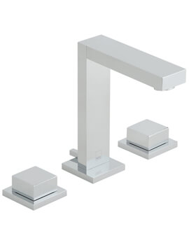 Vado Notion Deck Mounted 3 Hole Basin Mixer Tap