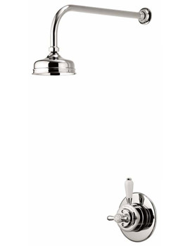 Aqualisa Aquatique Concealed Valve With Fixed 5 Inch Drencher Head