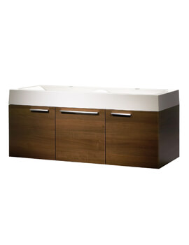 Roper Rhodes Envy 1200mm Wall Mounted Unit With Double Basin