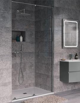 Crosswater Svelte 1200mm Single Slider Shower Door