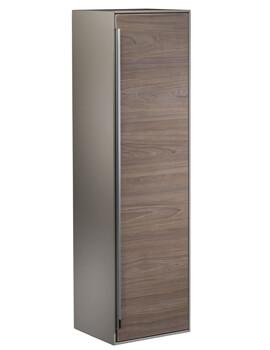 Roper Rhodes Vista 330 x 1220mm Taupe-Dark Elm Tall Storage Unit