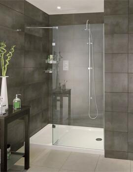 Aqata Spectra SP420 Walk-In Shower Screen Recess 1400mm