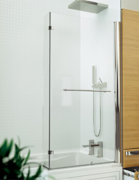 Kudos Inspire L-Shaped Shower Bath Screen