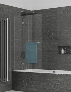 Kudos Inspire 8mm Two Panel Outswing Bathscreen