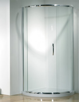 Kudos Infinite Curved Corner Sliding Shower Door