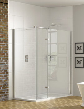 Aqata Spectra SP447 Corner Walk-In Enclosure With Hinged Panel 1200 x 760mm
