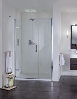 Aqata Spectra SP457 800mm Hinged Door And Inline Panel For Recess