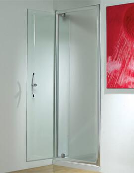 Kudos Original 1850mm High Straight Pivot Shower Door