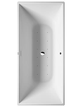 Duravit DuraSquare 1850 x 850mm Freestanding Whirltub