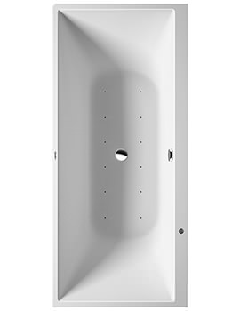 Duravit DuraSquare 1800 x 800mm Corner Right Whirltub With Air System