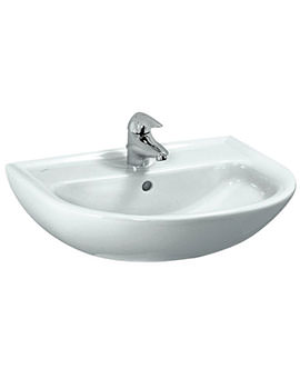 Laufen Pro B 600 x 480mm Washbasin With 1 Tap Hole