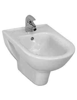 Laufen Pro White Wall Hung Bidet With 1 Tap Hole