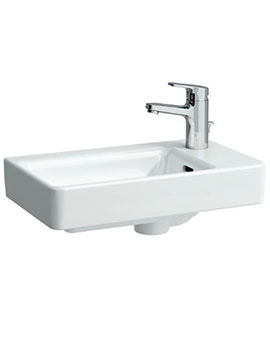 Laufen Pro A 480mm Small Countertop Washbasin Asymmetric Right