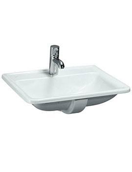 Laufen Pro A 560mm x 440mm Drop-In Washbasin With 1 Centre Tap Hole