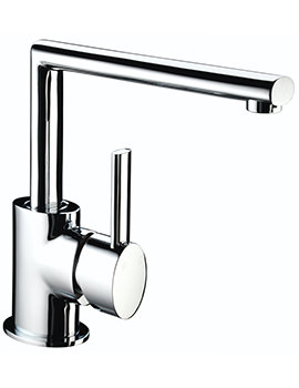 Bristan Oval Kitchen Sink Mixer Tap With EasyFit Base