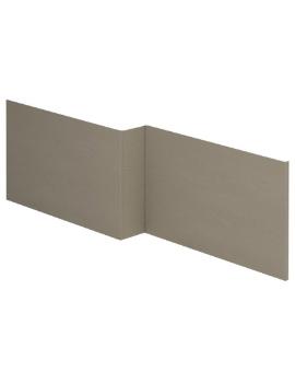 Essential Vermont 1700mm MDF L Shape Front Bath Panel