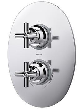 Triton Kensey Dual Control Mixer Shower Valve