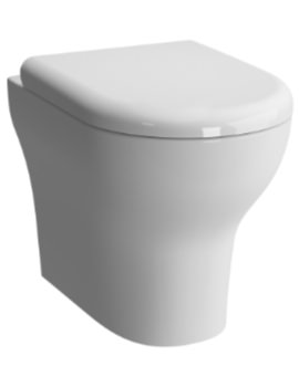 Vitra Zentrum Back-To-Wall WC Pan With Soft Close Toilet Seat