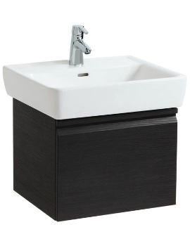 Laufen Pro 520mm Single Drawer Wenge Vanity Unit With 1 Interior Drawer